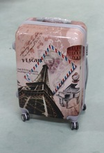 hot selling business travel luggage bag with trower printing luggage