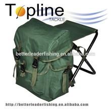Cheap top quality fishing backpack stool, folding fishing stool