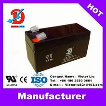 maintenance free rechargeable battery 12v 1.3ah lead acid vrla battery 12v 1.3ah