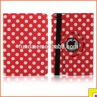 360 Degree Rotating Pu Case for ipad mini leather case