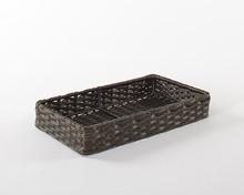 Distinctive Bath Placement Waterproof Basket of Poly Rattan