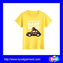 Bulk Custom Chinese Brand Kids Short Sleeve T shirt