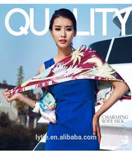 High quality digital print fashion polyester chevron printed scarf