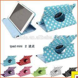 For Ipad Mini 360 Degree Pu Leather Rotating Case