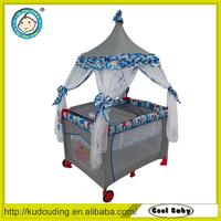 Hot sale european standard baby playpens bed cot crib