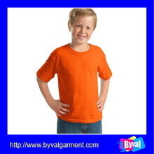 hot sale high quality kids tshirt wholesale cheap blank plain polyester fabric tshirt for children