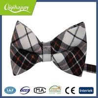 Classic fashion colorful handmade ribbon bow tie