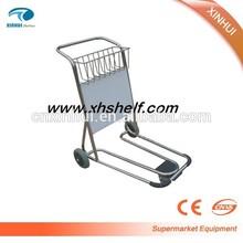 Aluminum Luggage trolley airport hand luggage trolley luggage carrier trolleys