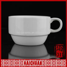 HCC 11oz ring and rim color ceramic mug for sublimation