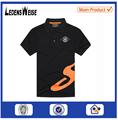 la fábrica de china de color combinación de promoción de algodón de trabajo al por mayor para hombre camisetas t