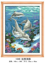 """Classic Dolphin"" DIY Full Diamond Painting"