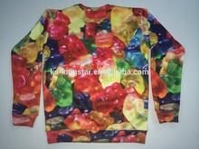 Customized design fleece mens sweatshirts sweater