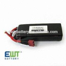 Green power 11.1V 2500mah 25C li-polymer battery