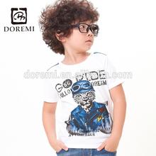 OEM Service 2014 newest fancy boys T-shirt children cartoon clothing