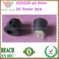 2015 DC022D 5.5*2.0 12v dc connector jack