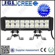 JGL 4X4 LED DRIVING LIGHT BAR 54W, 36W, 72W, 126W, 180W LED LightBar for JK Offroad, SUV, UTV, Trucks, Tractor, Boats, Excavator