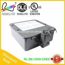 Pole mount DLC high brightness shoe box luminaire led solar street light