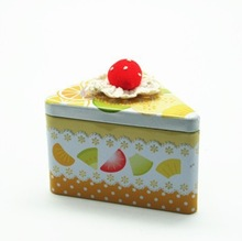 Attractive food grade packaging box best selling cake in triangle gift box