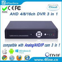 4CH Cheap AHD DVR Security Camera DVR Kit