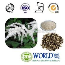 black cohosh extract, Triterpenoid Saponins:1.5% 2.5% 8% HPLC, 10:1, 20:1, 30:1