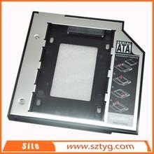 china supplier optical bay hard drive enclosure thickness 9.5mm