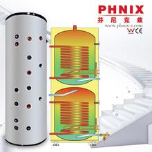 Duplex stainless steel 2304/2205 cylindrical modular water tanks