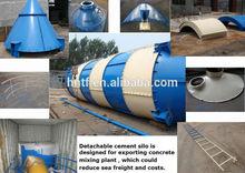 50T 80T 100T 120T 150T 200T 300T Portable Cement Silo