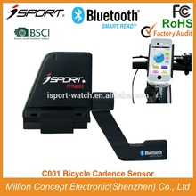 2015 Cycling Bluetooth cadence sensor bike for IPhone 4S, IPhone 5/5C/5S/ 6 and 6 Plus and other iOS and Android phones