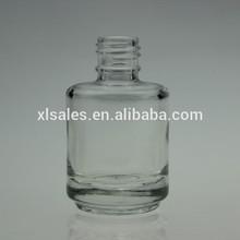 NAIL POLISH 30ML WHITE GLASS MINI SHINING BOTTLE WITH BRUSH