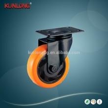 Medium Heavy Duty Polyurethane Threaded Stem Swivel Caster