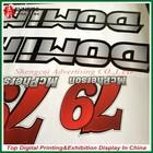 vinyl sticker Uv coating sticker/UV protected waterproof adhesive sticker printing