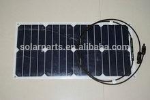 Monocrystalline PV flexible sunpower solar panel for marine