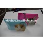 custom design accepted good quality PVC plastic handbag