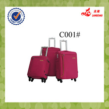 EVA material ISO certificate Hand Trolley Luggage Hot Sale 4pcs Travel Trolley Luggage