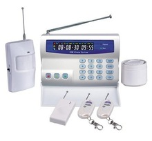 GSM wireless home usage security alarm system (BL2000) Auto dial &sms