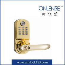 Smart card digital waterproof magnetic key lock