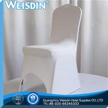 beach wholesale spandex/nylon fashion wedding chair cover with organza sash