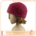 2015 Hot Sale Custom Design beanie hat soft wool knitted beanie style kid winter hat blue hat