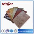 Aluwecan acp hoja de mármol y granito PVDF recubrimiento hojas / el panel compuesto de aluminio