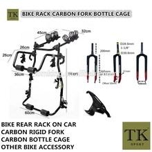 2015 hot sale rear bike rack on car,carbon bottle cage on bike,hanging bike rack,portable bike rack