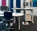 mesa de escritório altura ajustável