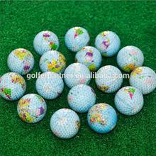 World Map Practice Golf Ball