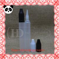 Hot selling HD packing slim plastik bottles e cigarette dropper bottle 30ml