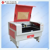 Small PVC Tarpaulin And Wood Shape Laser Cutting Machine