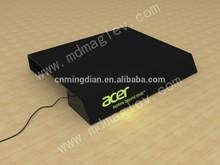 acrylic laptop display base ,led acrylic computer show stand,Arcylic LED laptop display stand