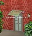 popular de la alta calidad de policarbonato de bricolaje de aluminio marco de la ventana piezas
