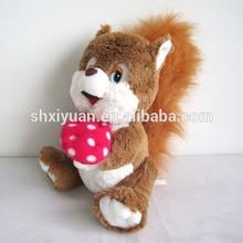 Soft Toy Squirrel/Stuffed Squirrel Toy/Custom Squirrel Wholesale