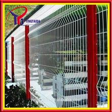 2015 professional powder coated V mesh fence