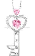 Best quality classical key chain charm pendant