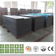 Non-slip Wood Plastic Composite Decking Tiles, PVC Interlocking Floor Tiles